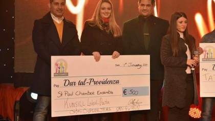 Donation to Dar Tal – Providenza