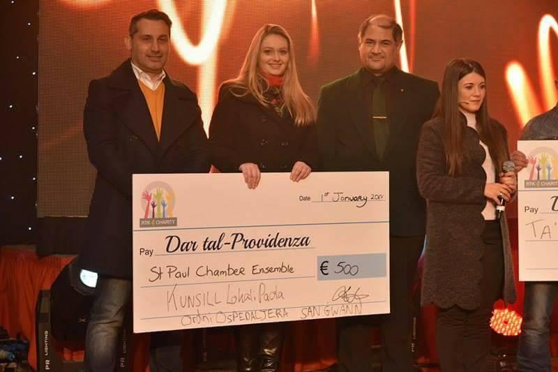 Donation to Dar Tal – Providenza